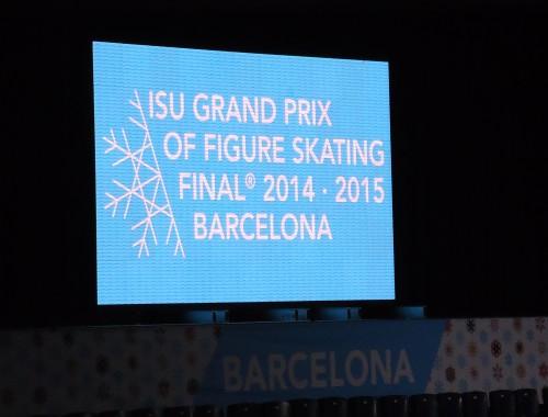 ISU Final Grand Prix Figure Skating Barcelona 2014