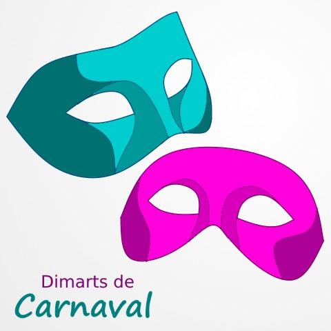 Logo-Dimarts_de_Carnaval-Teresa_Saborit