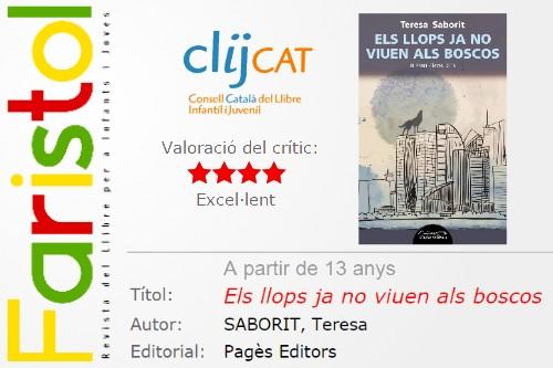 20170306-Revista_Faristol_literatura_infants_joves-ClijCat-Consell_catala_llibre_infantil_juvenil_Catalunya-Critica_Els_llops_ja_no_viuen_als_boscos