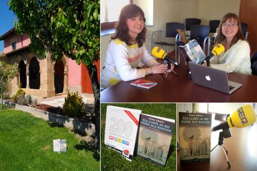 20170521-Punt_llibre-Cadena_SER_Catalunya-Entrevista_Pilar_Argudo-Els_llops_ja_no_viuen_als_boscos-200_muses-VullEscriure-Teresa_Saborit