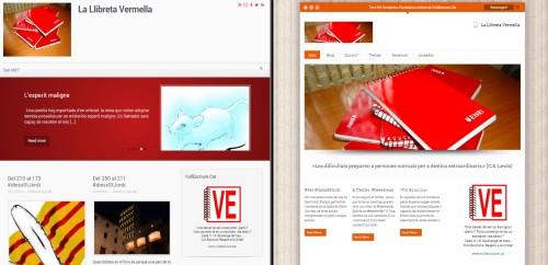 Nova cara blog llibreta vermella