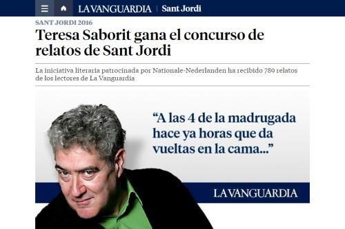 20160418-Teresa_Saborit_guanyadora_concurs_Sant_Jordi_La_Vanguardia_Quim_Monzo