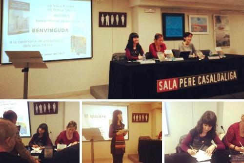 20170112-Presentacio_Barcelona-Llibreria_Claret-Els_llops_ja_no_viuen_als_boscos-Premi_7_lletres-Teresa_Saborit-Colonia_hidraulica_contes-Silvia_Romero