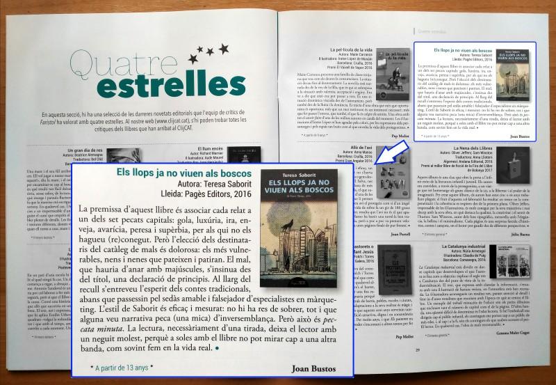20170618-Revista_Faristol-Literatura-Els_llops_ja_no_viuen_als_boscos-Excel-lent