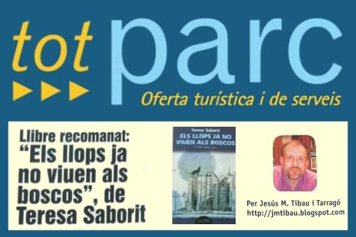 20170914-Revista_Tot_Parc-Terres_Ebre-Els_llops_ja_no_viuen_als_boscos-Llibre_recomanat-Ressenya_Jesus_M_Tibau