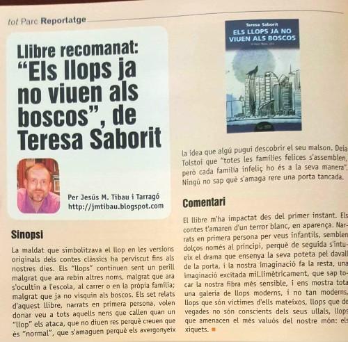 20170914-Revista_Tot_Parc-Terres_Ebre-Llibre_recomanat-Els_llops_ja_no_viuen_als_boscos-Ressenya_Jesus_M_Tibau