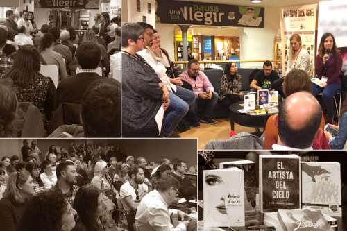 20181124-Cronica-Congres_Escriptors_Barcelona-La_revolucio_de_les_formigues-Llibreria_Casa_Libro-Misteris_atrapen_lectors