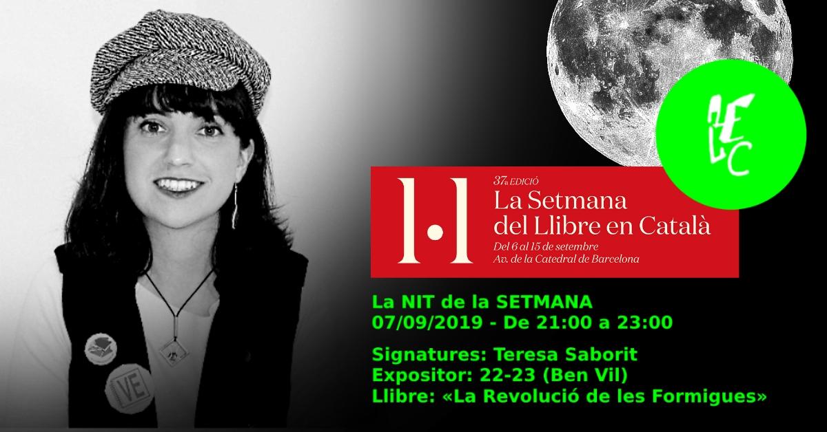 20190907-Setmana_Llibre_Catala-Associacio_Escriptors_Llengua_Catalana-Nit_Signatures-Teresa_Saborit