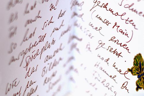 Write more letters (Markus Reinhardt)