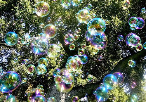 Bubble rain (Steve Jurvetson)